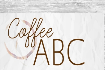 The coffee alphabetaccording toGimoka UK.