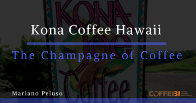 Kona Coffee, Hawaii. The Champagne of Coffee