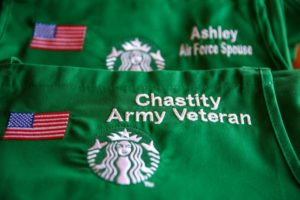 Starbucks army veterans