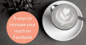 reach on Facebook