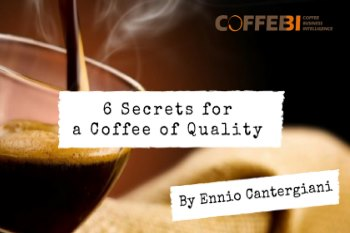 the secrets for a coffee of quality