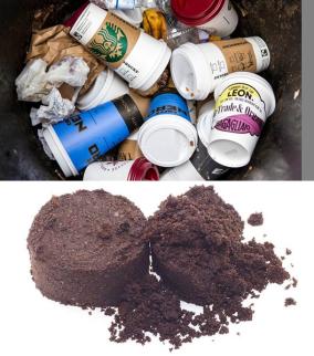 coffee waste