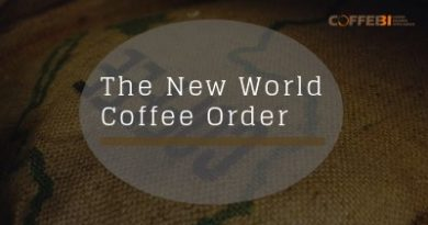 The new world coffee order