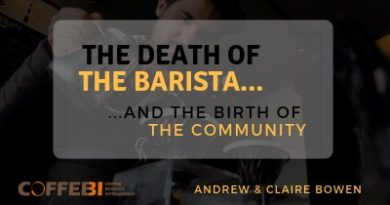 The Death of the Barista and the Birth of the Community