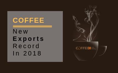 Coffee, New Exports Record In 2018