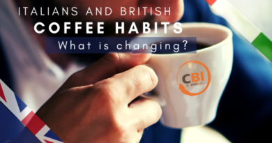 Italians and British coffee habits