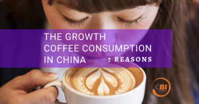 THE GROWTH COFFEE CONSUMPTION IN CHINA