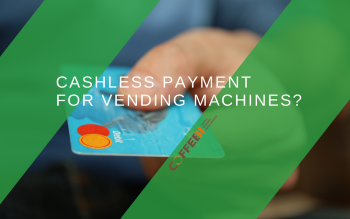 Cashless payment for vending machines