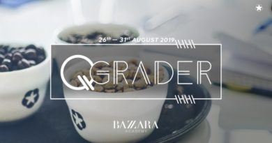 A course to become a Q-Grader at the Bazzara Accademy