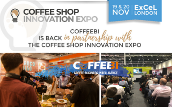 European event for coffee shop business