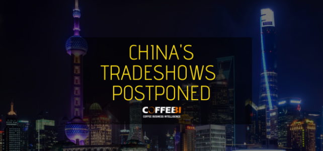 China's tradeshows postponed